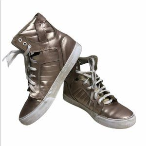 3 for $30 Supra gold tone shoes